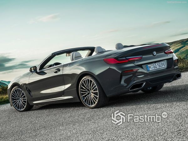 Технические характеристики BMW 8-Series Convertible 2019