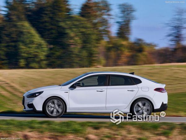 Экстерьер Hyundai i30 Fastback N Line
