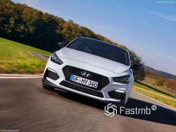 Системы безопасности нового Hyundai i30 Fastback N Line