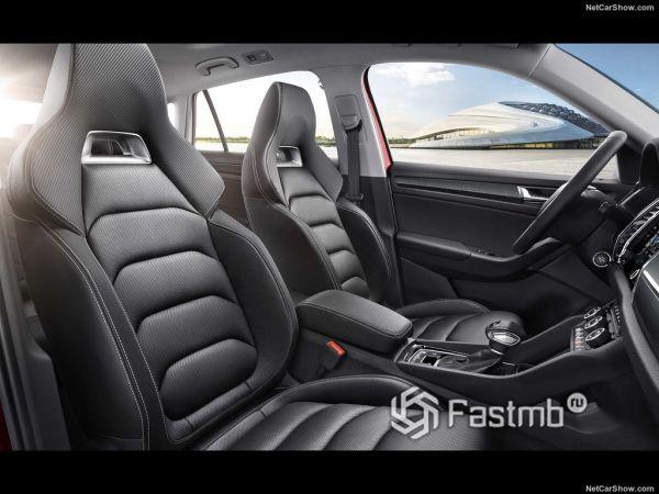 Skoda Kodiaq GT 2019, передние сидения
