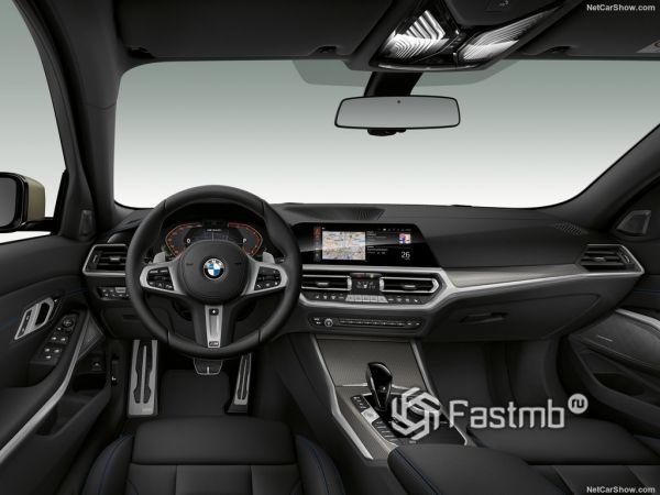 Внутреннее оформление M340i xDrive Sedan