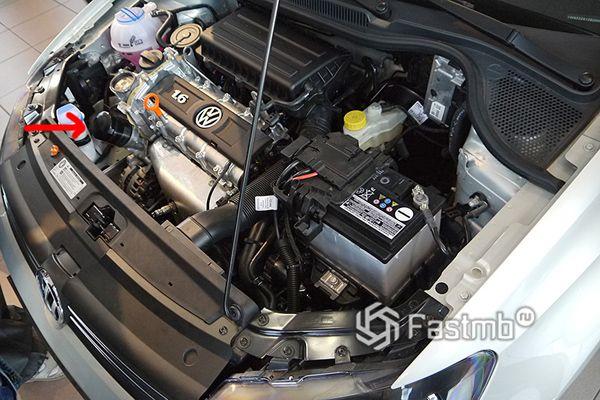Двигатель компании Volkswagen