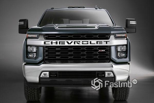 Передняя часть Chevrolet Silverado HD