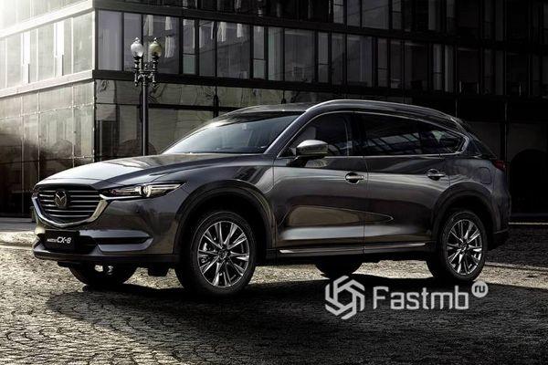 Новый кроссовер Mazda CX-8 2018