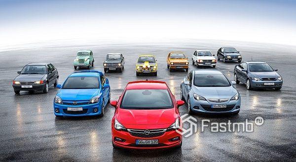 Самые интересные моменты истории Opel: ТОП-7