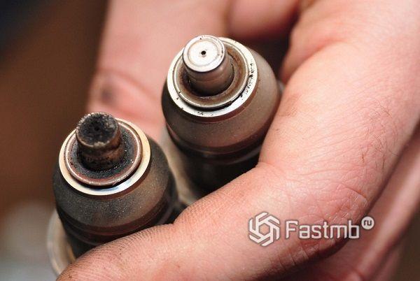 Причины и стадии засорения инжектора