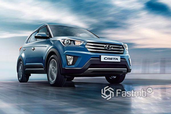 Кроссовер Hyundai Creta 2018