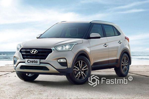 Самый популярный кроссовер Hyundai Creta 2018