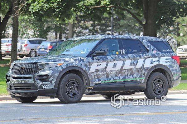 Новый Ford Explorer Police 2019