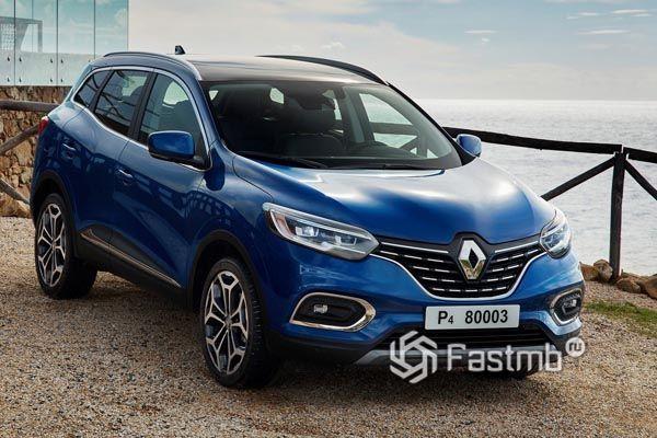 Новый Renault Kadjar 2019