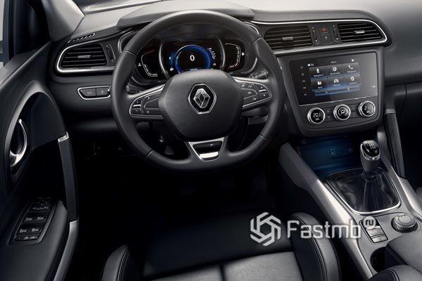 Интерьер нового Renault Kadjar 2019