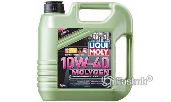 Жидкость для промывки форсунок Liqui Moly Molygen 10W-40
