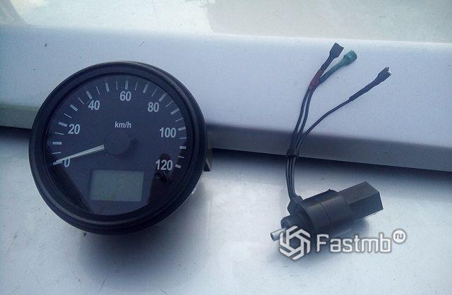 Устройство измерения скорости электронного типа
