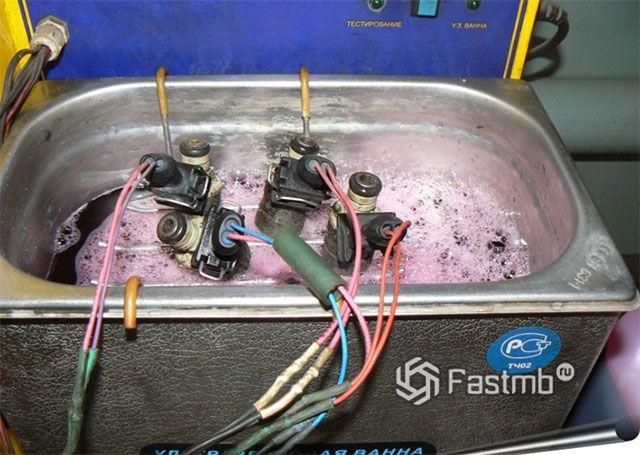 Ультразвуковая ванна для чистки форсунок