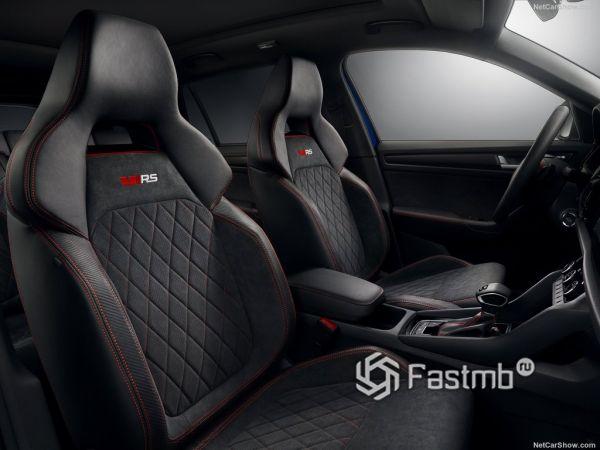 Шкода Кодьяк RS 2019 года, передние сидения