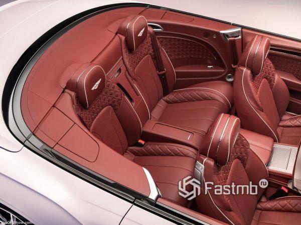 Bentley Continental GT Convertible 2019, сидения