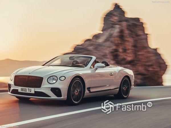 Bentley Continental GT Convertible 2019: 3 поколение роскошного кабриолета
