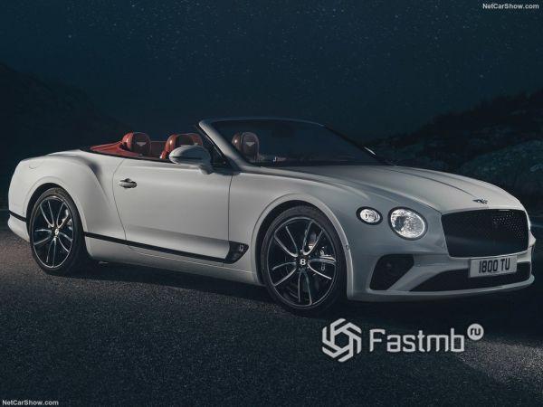 Технические характеристики Bentley Continental GT Convertible 2019