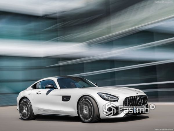 Безопасность нового Mercedes-Benz AMG GT