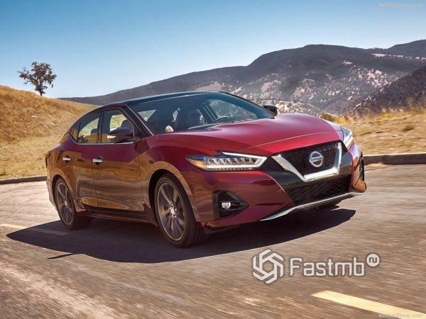 Безопасность нового Nissan Maxima