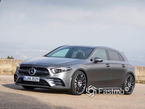 Безопасность нового Mercedes-Benz A35 AMG 4Matic