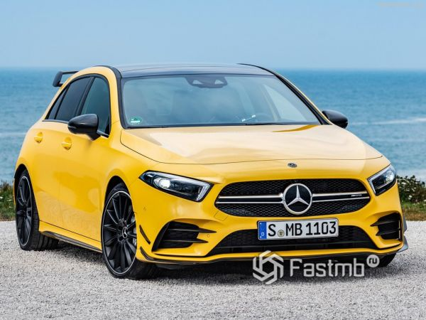 Mercedes-Benz A35 AMG 4Matic 2019: премиальная «зажигалка»
