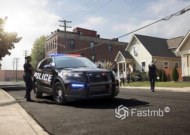 Полицейский Ford Explorer 2019