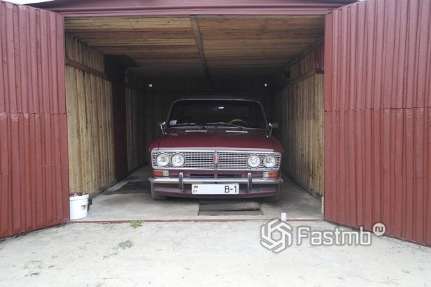 хранение машины в гараже