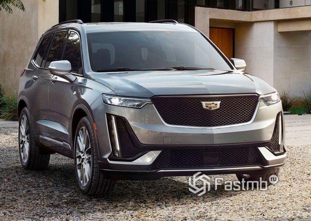 Передняя часть Cadillac XT6 2019-2020