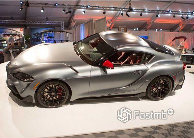 Первый экземпляр Toyota Supra 2019-2020