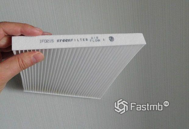 новый салонный фильтр Green Filter IF0215