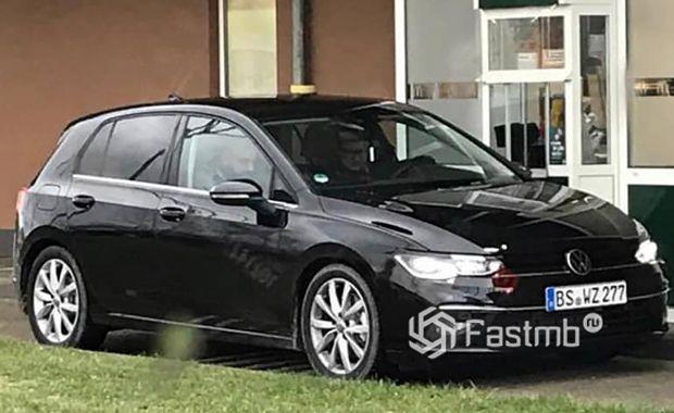Шпионские фото Volkswagen Golf VIII 2019