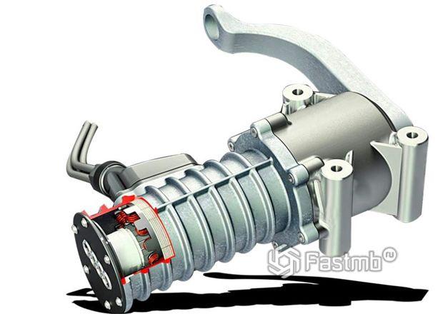 Электромеханический амортизатор eROT