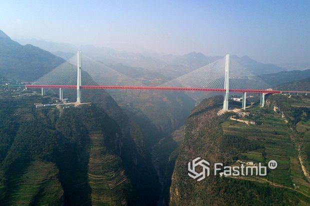 мост Дугэ – высотный рекордсмен