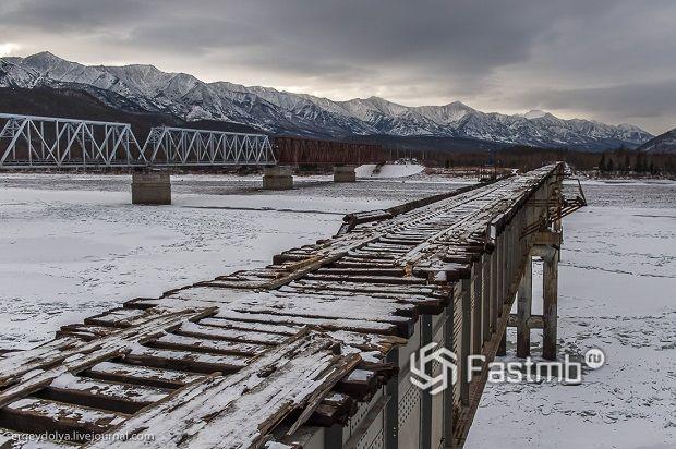 Русский экстрим в Забайкалье – Куандинский мост