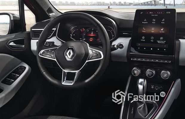 Интерьер нового Renault Clio 2019