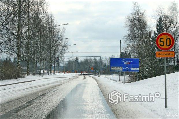 Тонкости езды на автомобиле по Финляндии