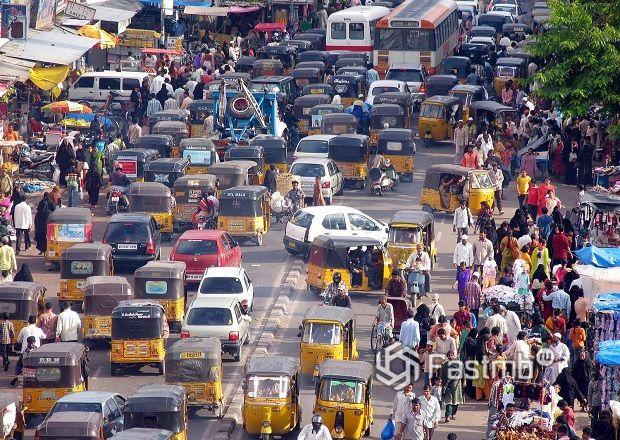 Индийские дороги и автомобили поражают воображение