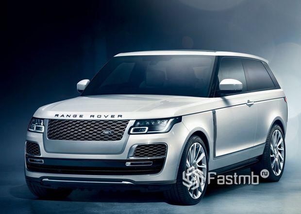 Новый Range Rover SV Coupe 2019