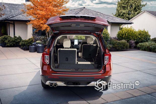 Багажное отделение Форд Эксплорер 2020