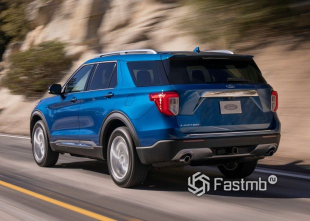 Светодиодные задние стопы Ford Explorer 2020