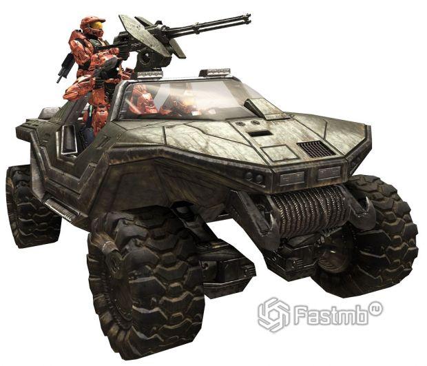 Warthog из вселенной Halo