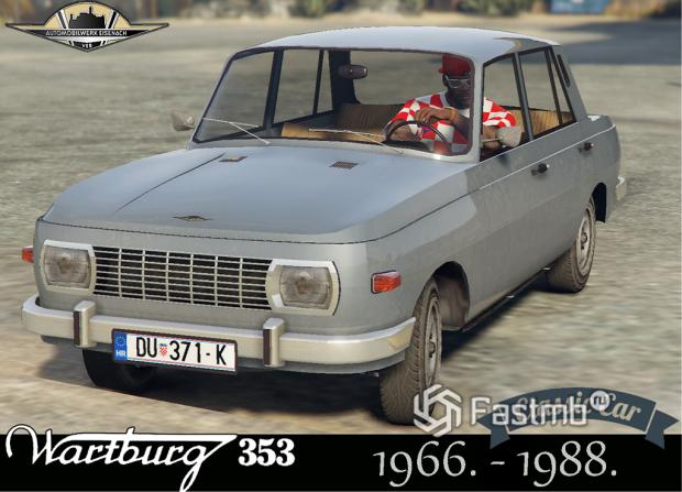 немецкая классика — Wartburg 353