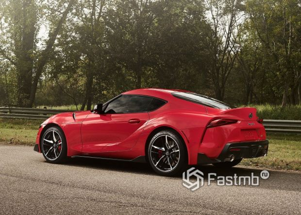 Светодиодные стопы Toyota Supra 2019