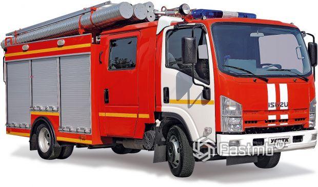 Автоцистерна пожарная Isuzu