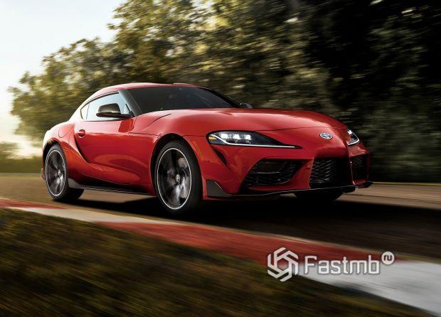 Дизайн пятого поколения Тойота Супра