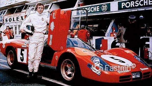 Стив МаКуин со своим Porsche 917