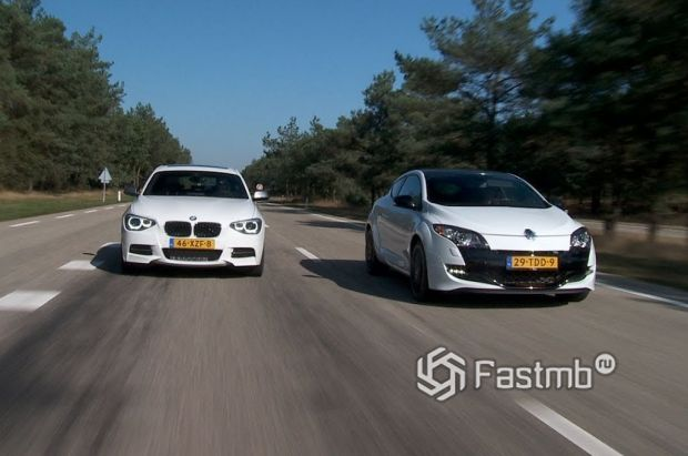 BMW M135i против Renault Megane
