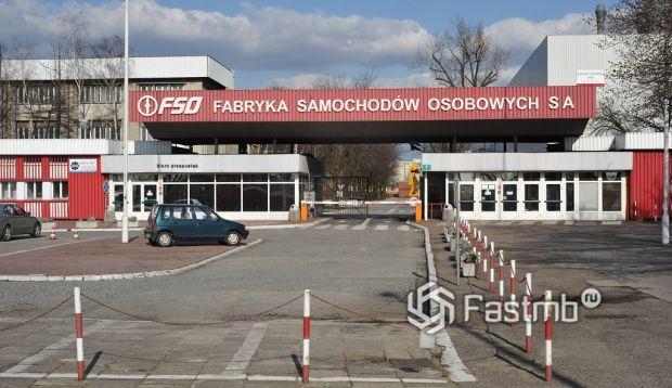 здание завода FSO в Польше
