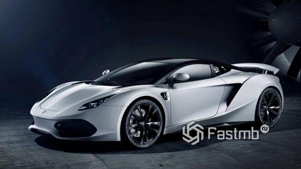 Прототип так и не созданного суперкара Arrinera Hussarya